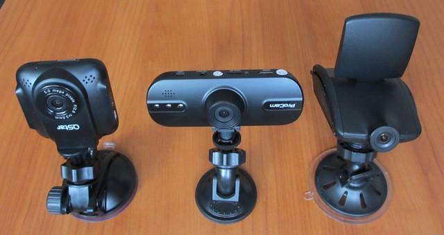 3 автомобильных видеорегистратора